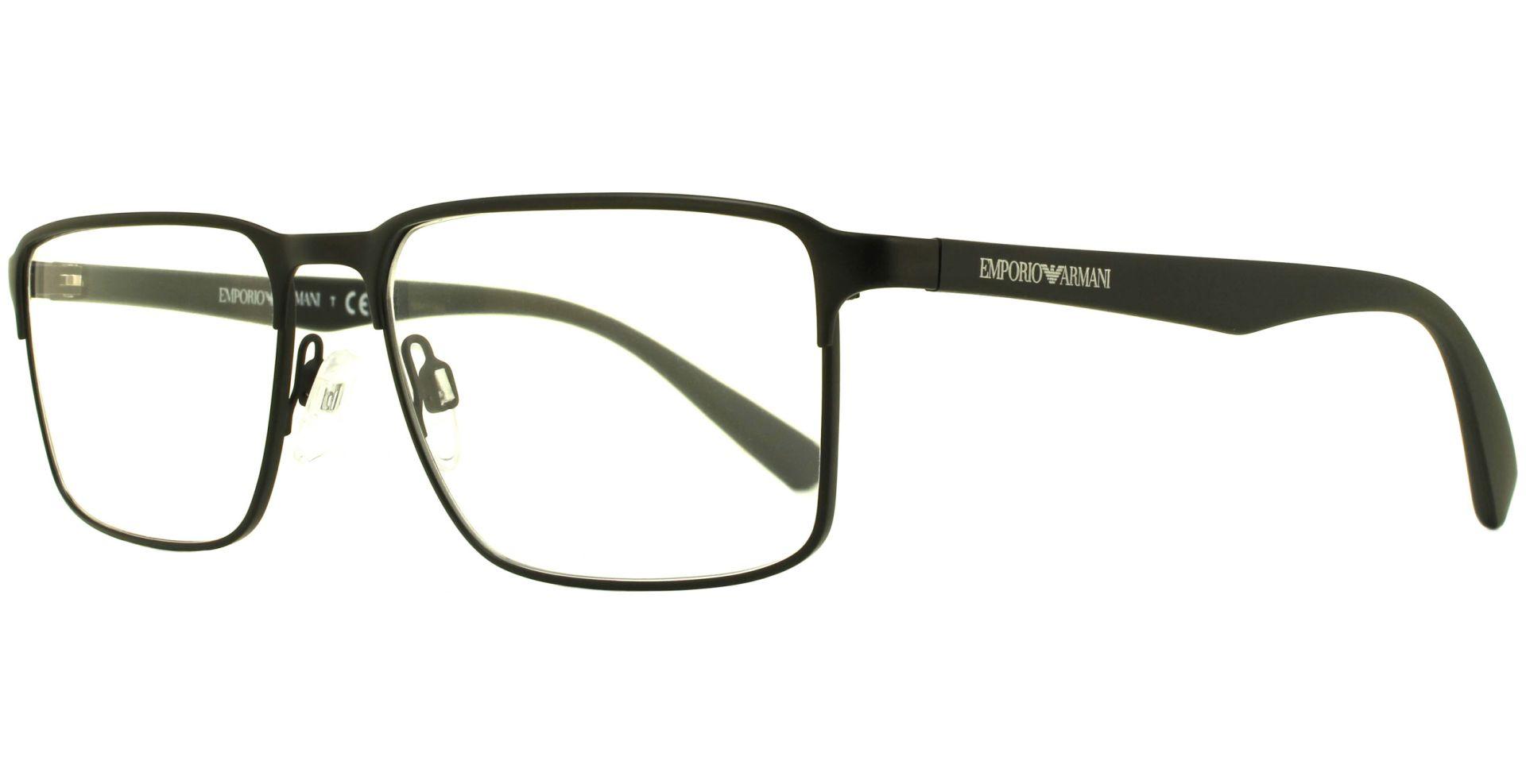 Emporio Armani - EA1046 3001 5517 Matte Black - von Lensbest