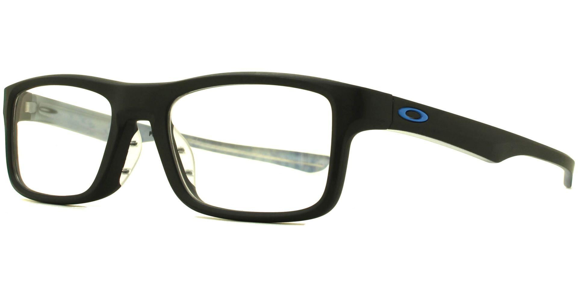 Oakley - Plank 2.0 OO8081 808101 5118 Satin Black - von Lensbest