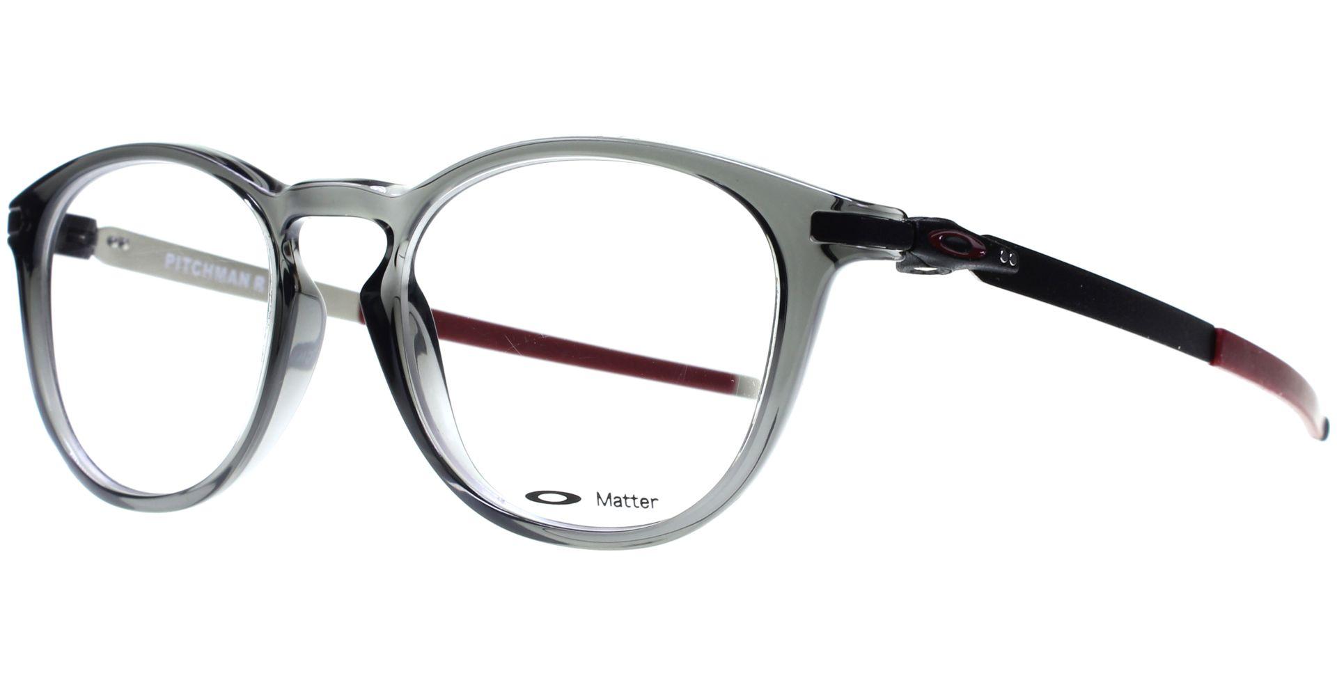 Oakley - Pitchman R OO8105 810502 5019 Grey Smoke - von Lensbest