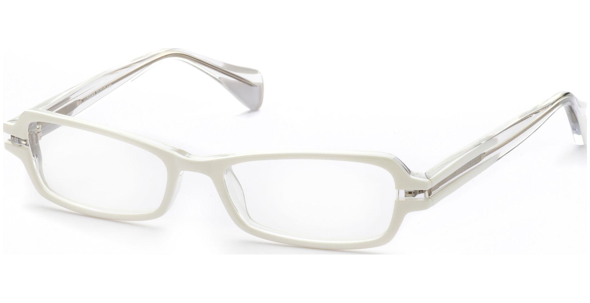 Lennox Eyewear - Keja weiß/transparent - von Lensbest