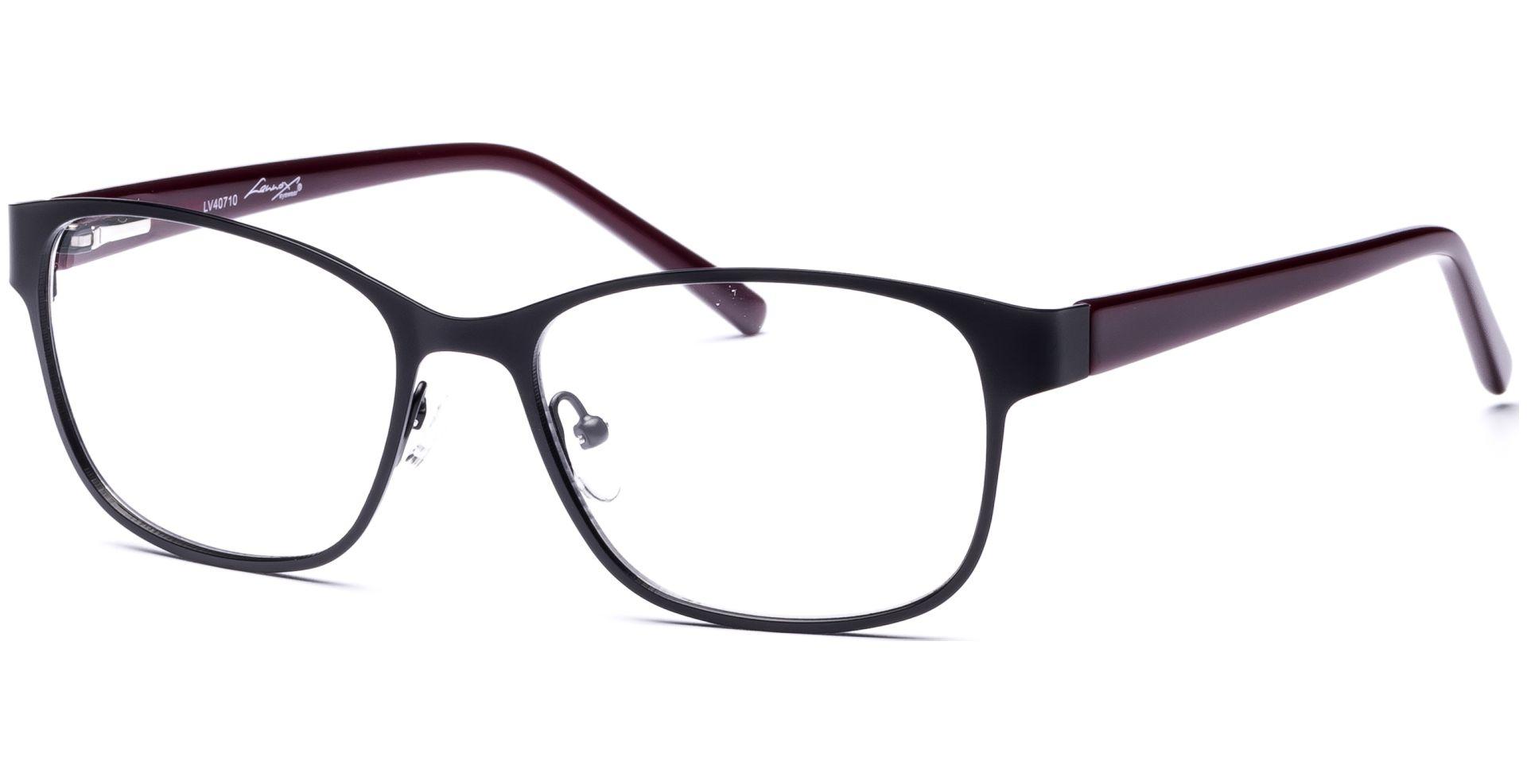 Lennox Eyewear - Ilva 5216 schwarz/beere - von Lensbest