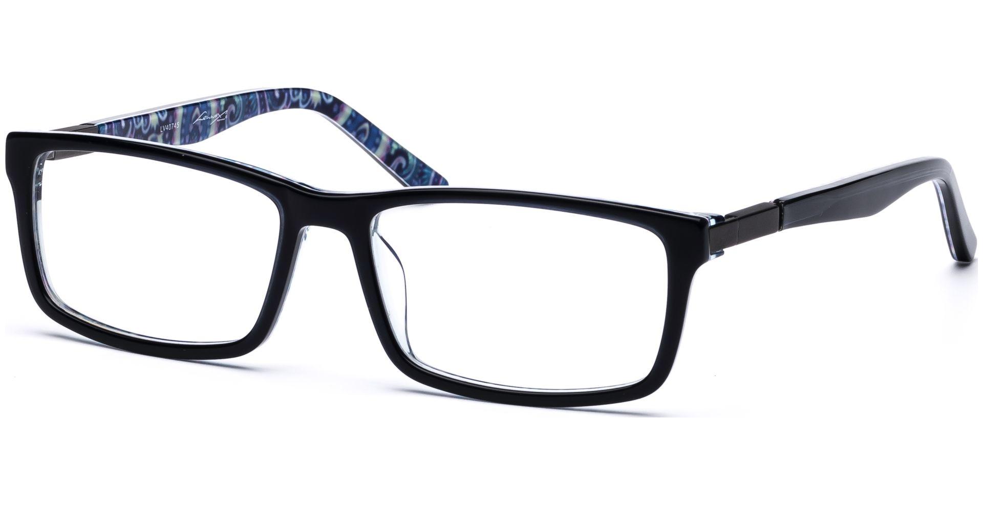 Lennox Eyewear - Rune 5317 schwarz, grau, bunt - von Lensbest