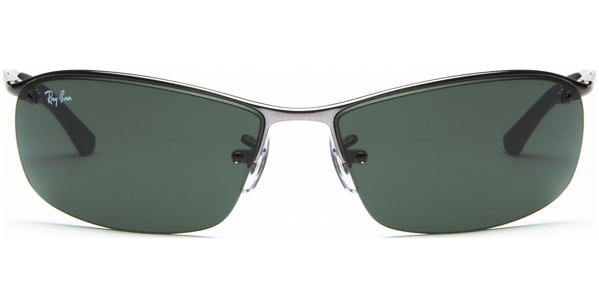 Ray-Ban Top Bar 3183 004/71 6315 Gunmetal/Green | Lensbest