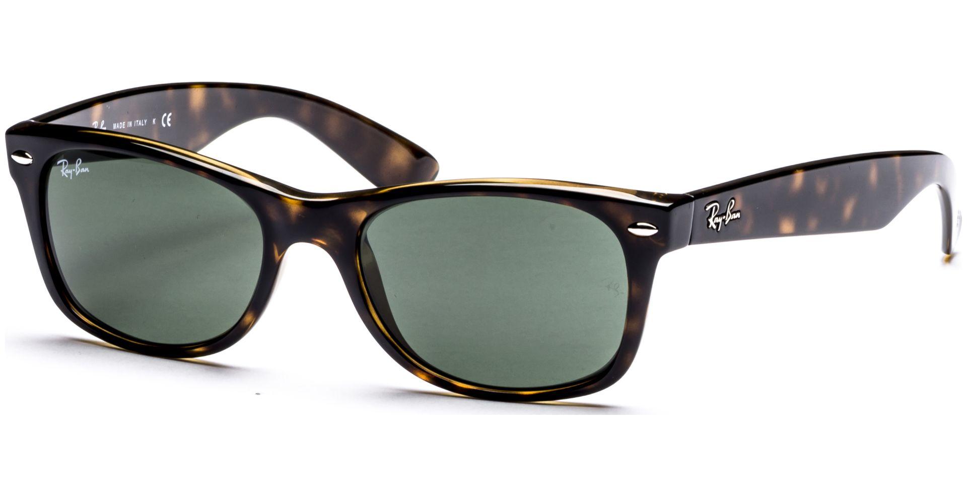 Ray Ban New Wayfarer Sonnenbrille matt blau