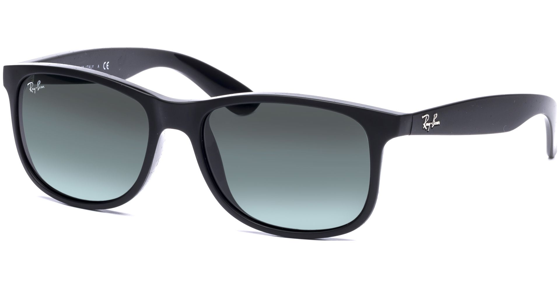 Ray Ban Andy 4202 606971 5517 Matte Black Dark Green