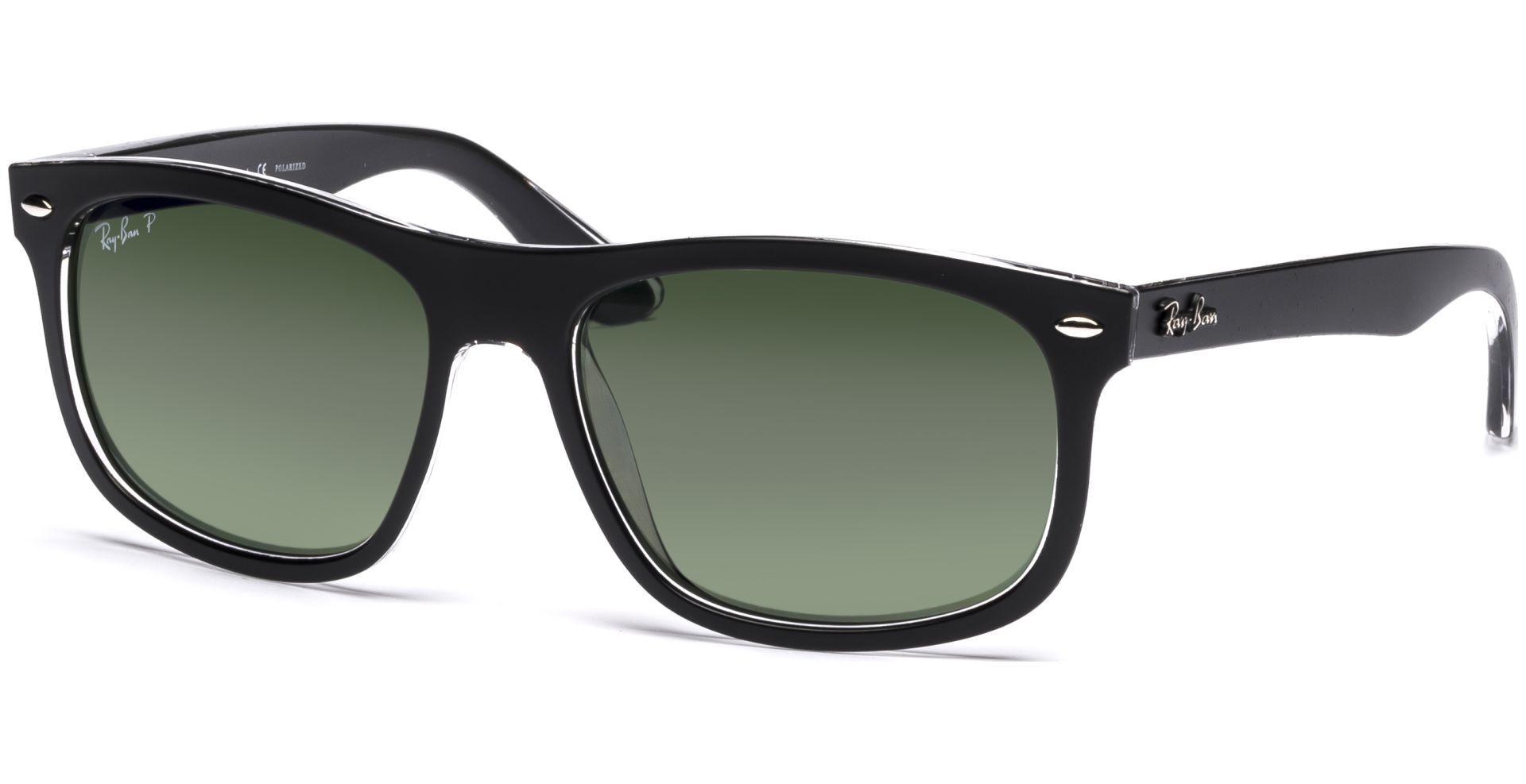 8384c5cdebf 4226 60529A 5616 Top Matte on Transparent Dark Green Polar von Ray-Ban Auch  als Sonnenbrille bestellbar!