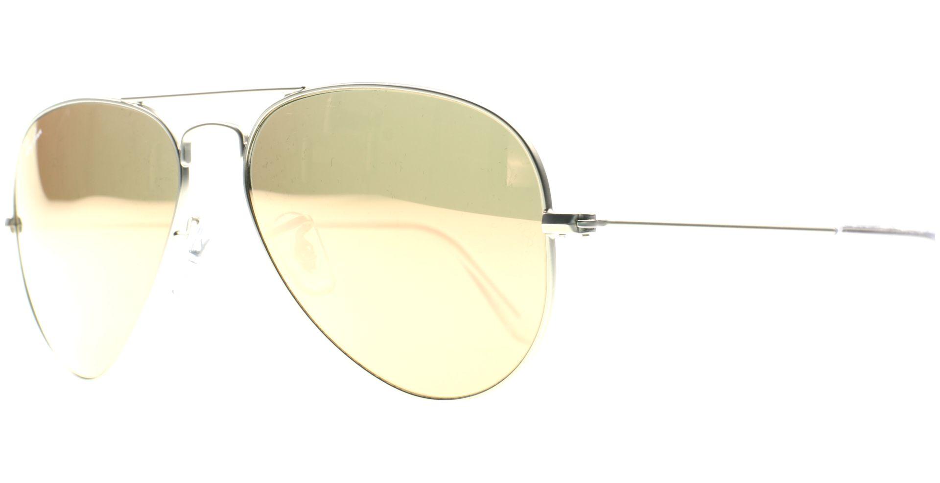 fa5c2893b09281 Ray-Ban - Aviator Metal Medium 3025 019/Z2 5814 Silver - von Lensbest
