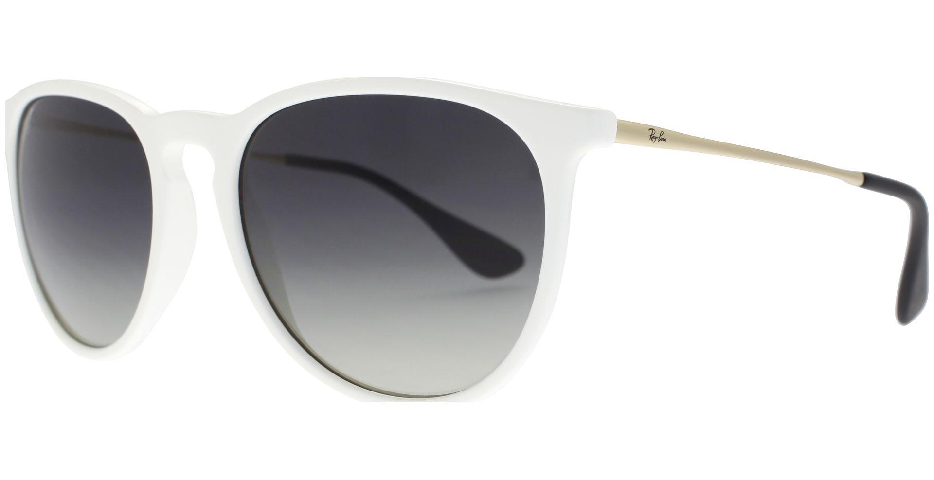 ff24d8eb24b23e Ray-Ban - Erika 4171 631411 5418 Shiny White - von Lensbest