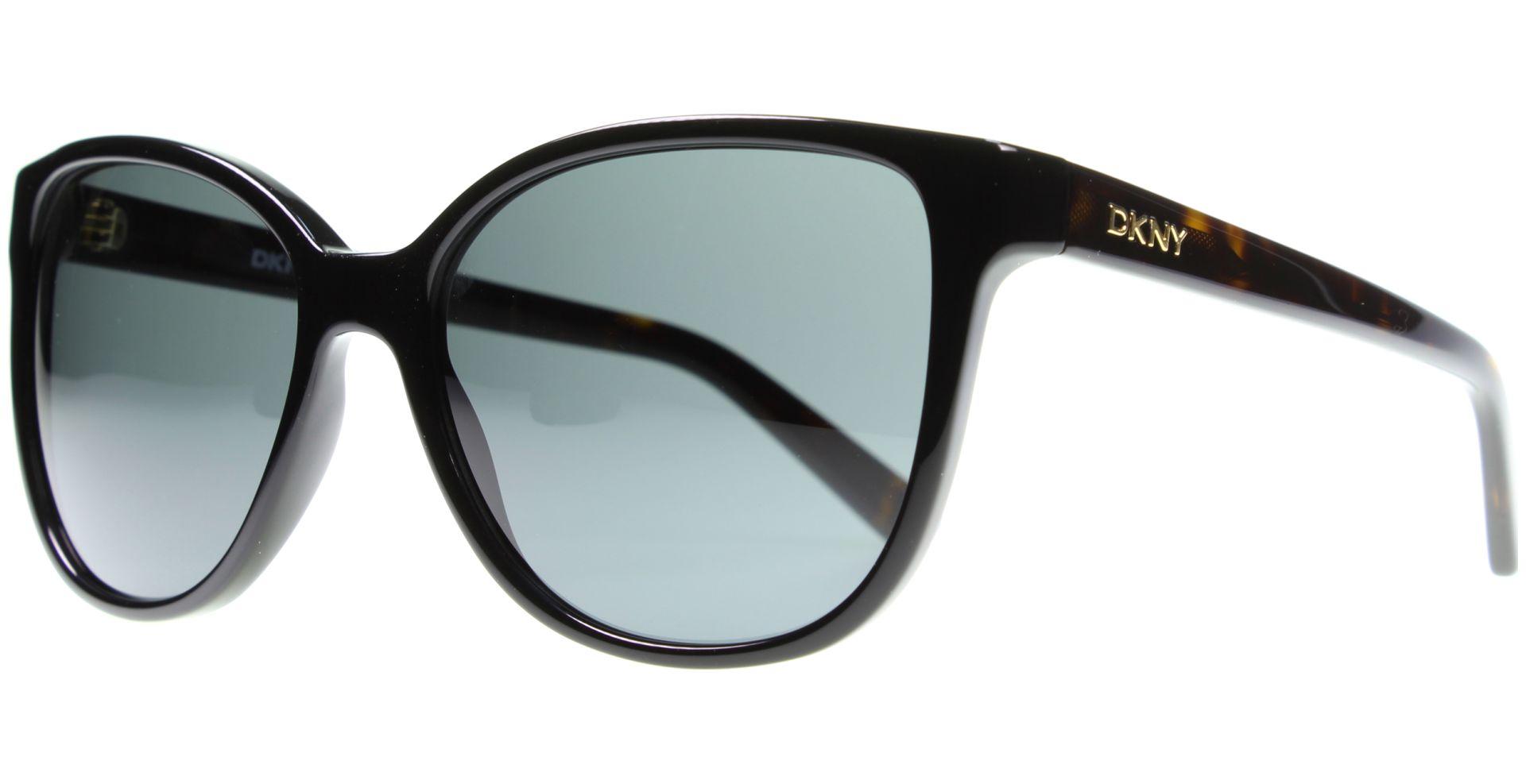 DKNY DY4129 Sonnenbrille Schwarz und Tortoise 300187 57mm R0Yt2Xr