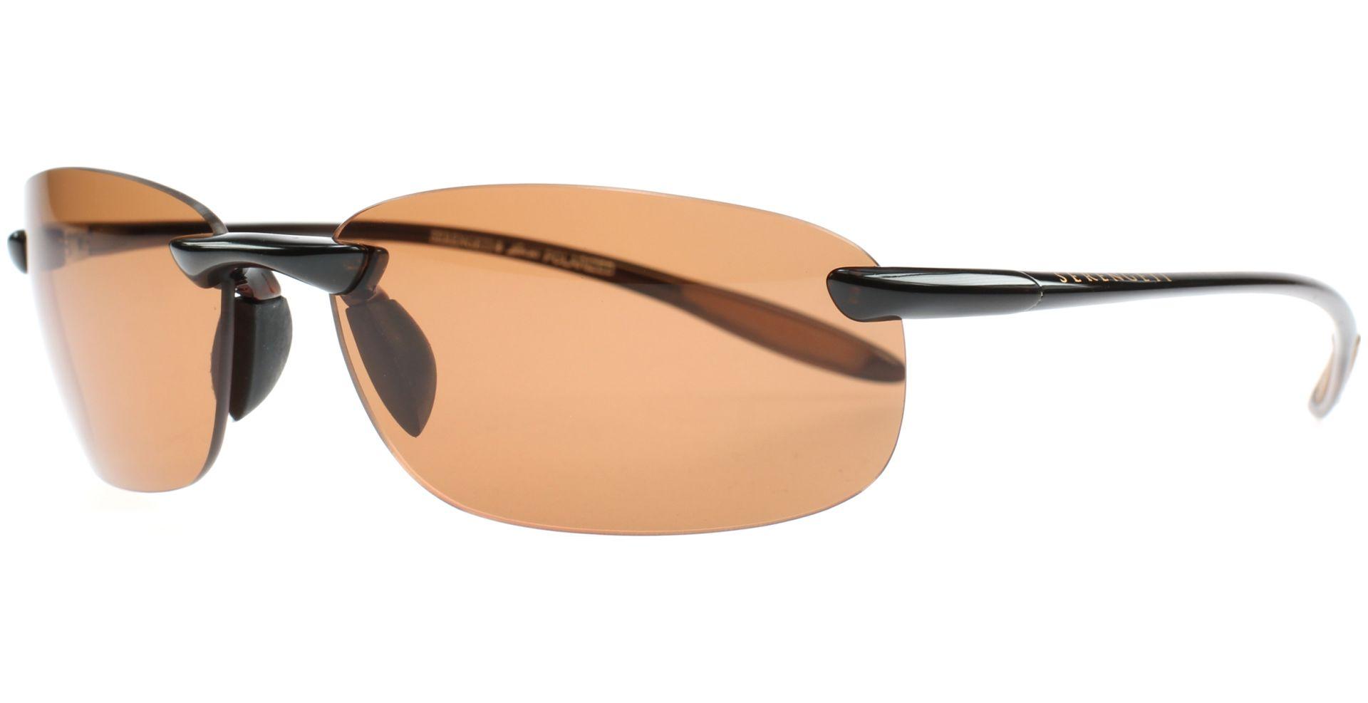 Serengeti Eyewear Sonnenbrille Nuvola, Shiny Brown, M, 7360