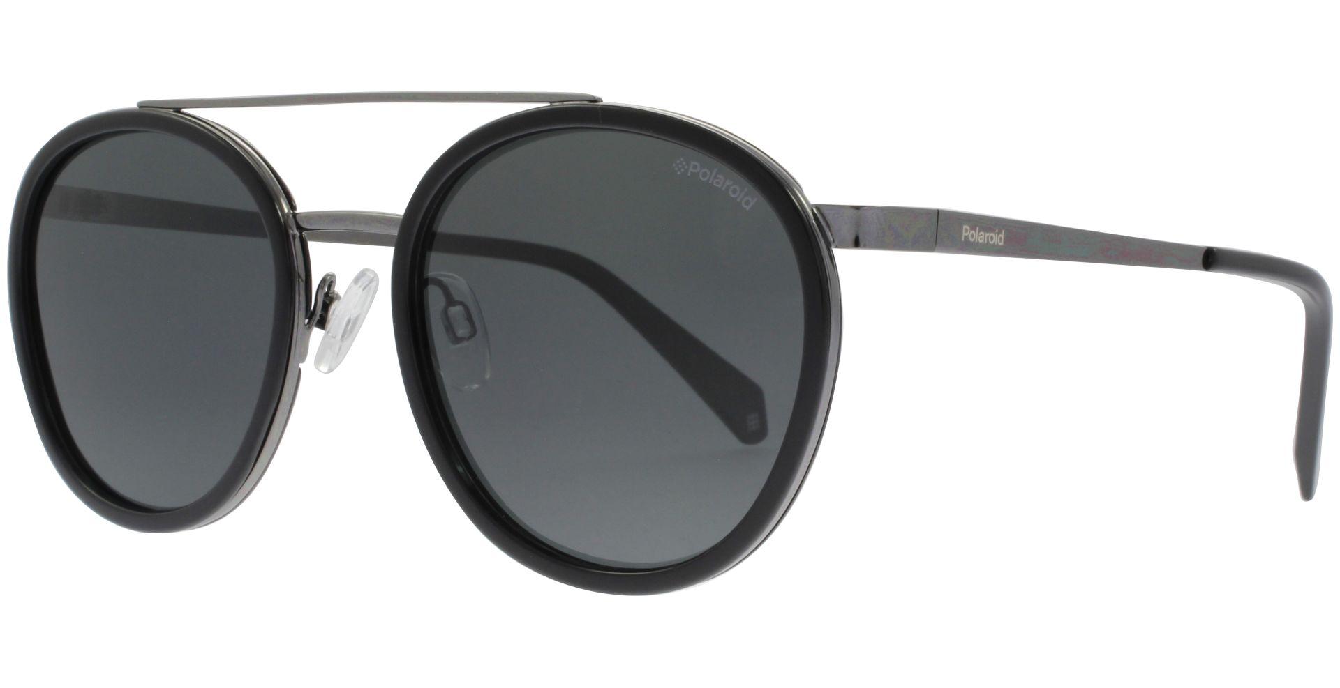 Polaroid PLD6032/S Sonnenbrille Schwarz 807 Polarisiert 53mm LIJGO