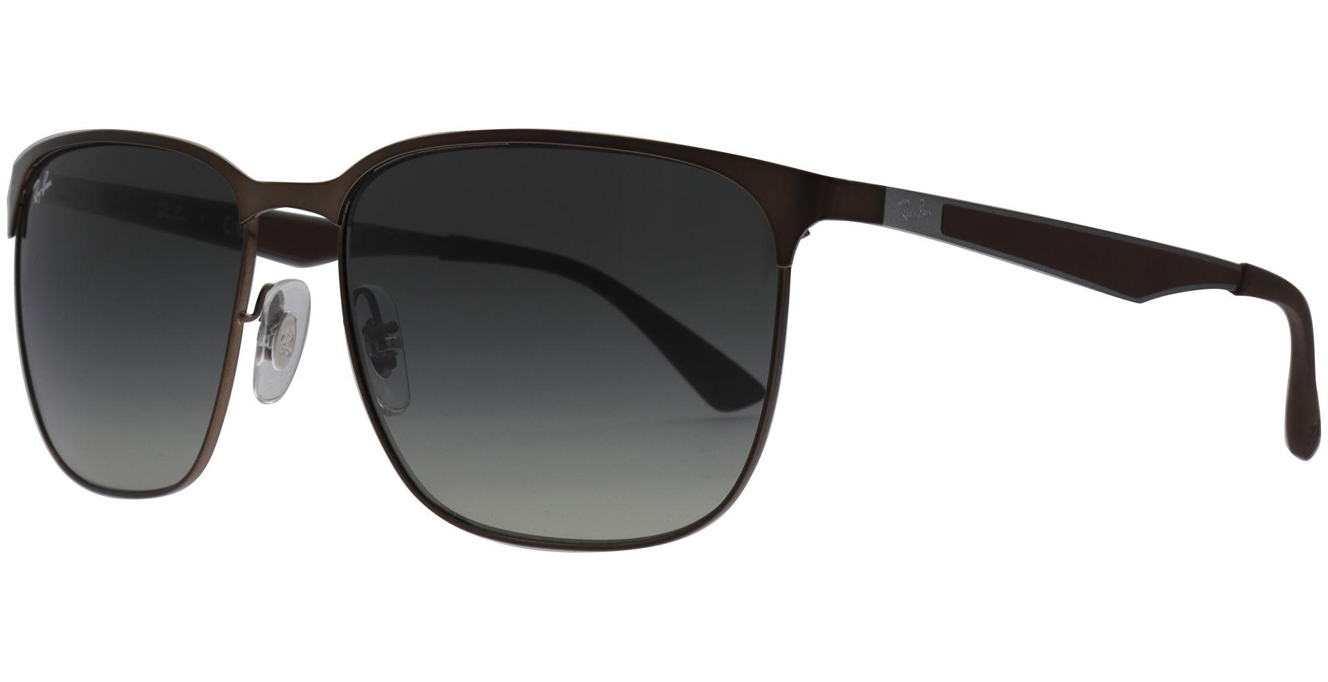 RAY BAN RAY-BAN Sonnenbrille » RB3569«, braun, 121/11 - braun/grau