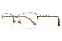 Swarovski Damen Brille » SK5140«, silberfarben, 016 - silber