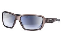 Tenzin 6215 dunkelgrau-transparent/schwarz von Lennox Eyewear Sports