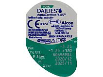 Dailies AquaComfort Plus Toric 30er Box von Alcon