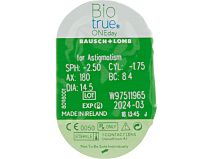 Biotrue ONEday for Astigmatism 30er Box von Bausch & Lomb