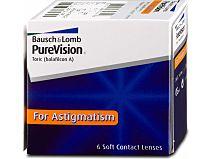 PureVision For Astigmatism (1x6) von Bausch & Lomb