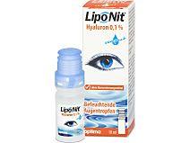 Lipo Nit Hyaluron 0,1% compact Augentropfen von Optimapharma