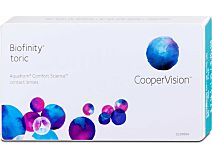 Biofinity toric (1x3) von Cooper Vision