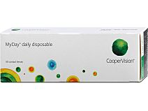 MyDay daily disposable (1x30) von Cooper Vision