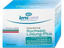 Kochsalz-Lösung-Plus von Lenscare