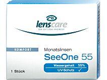 SeeOne 55 Monatslinsen 1er Box von Lenscare