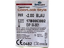 ColorLook Style Tageslinsen 10er Box von Lenscare