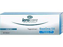 SeeOne 58 Tageslinsen (1x30) von Lenscare