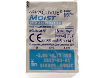 1-Day ACUVUE MOIST for ASTIGMATISM 30er Box von Johnson & Johnson