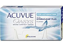 ACUVUE OASYS for Astigmatism (1x6) von Johnson & Johnson