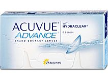 Acuvue Advance (1x6), BC 8,7 von Johnson & Johnson