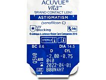 ACUVUE VITA for ASTIGMATISM 6er Box von Johnson & Johnson