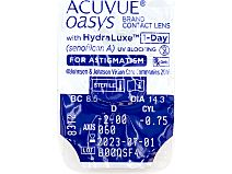 ACUVUE OASYS 1-Day for Astigmatism 30er Box von Johnson & Johnson