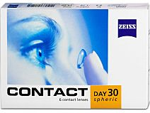 Contact Day30 Spheric (1x6), BC 8,8 (+) / 8,9 (-) von Zeiss