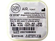 Contact air toric 6er Box, BC 8,6 von Wöhlk