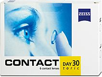 Contact Day 30 toric 6er Box von Zeiss