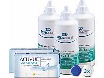 Acuvue Advance 2-Wochenlinsen Set von Johnson & Johnson
