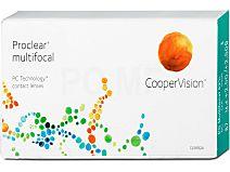 Proclear multifocal (1x6) von Cooper Vision