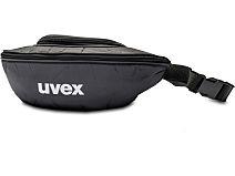 Textiletui groß mit Gürtelschlaufe 9954.501 schwarz von Uvex Arbeitsschutz