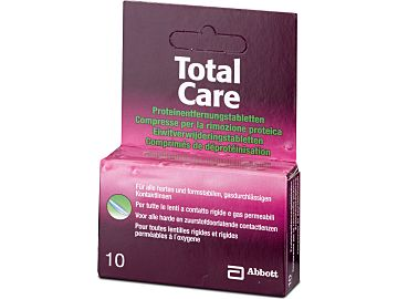 TotalCare Proteinentfernungstabs von Abbott Medical Optics (AMO)