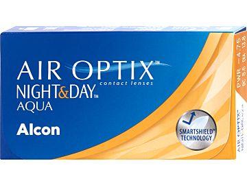 AIR OPTIX NIGHT&DAY AQUA 3er Box, BC 8,6 von Alcon