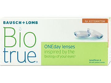 Biotrue ONEday for Astigmatism 30er Box von Bausch & Lomb