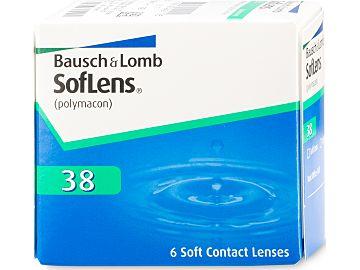 SofLens 38 6er Box, BC 8,7 von Bausch & Lomb
