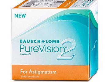 PureVision 2 HD For Astigmatism 6er Box von Bausch & Lomb