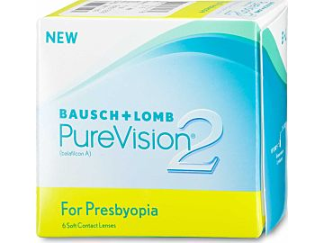 PureVision 2 HD for Presbyopia 6er Box von Bausch & Lomb