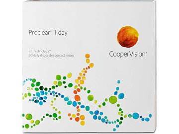 Proclear 1day 90er Box von Cooper Vision
