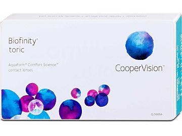 Biofinity toric 3er Box von Cooper Vision