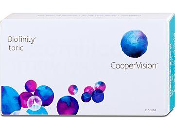 Biofinity toric 6er Box von Cooper Vision