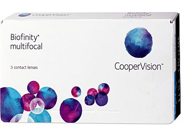 Biofinity multifocal 3er Box von Cooper Vision