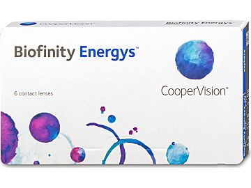 Biofinity Energys 6er Box von Cooper Vision